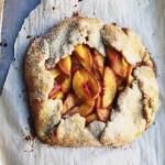 Homemade Peach Galette