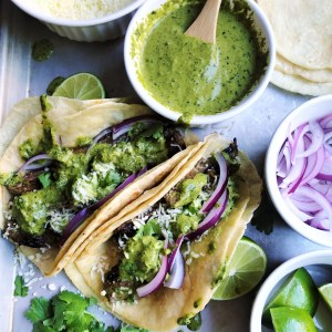 Steak Chimichurri Tacos