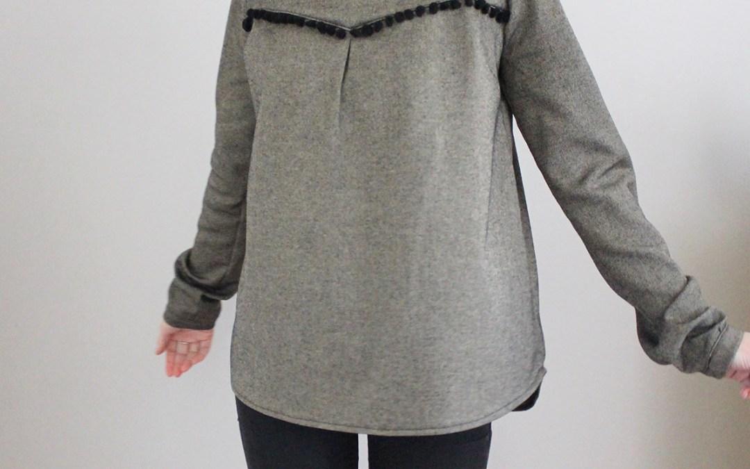 Une petite laine pour la blouse Budapest