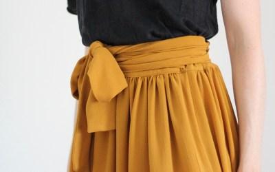 Fluidité et légèreté pour le patron de la jupe Pastel
