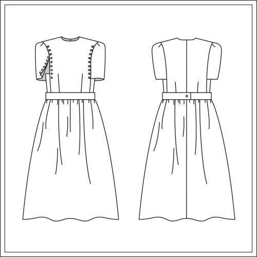 patron de couture robe ankaa