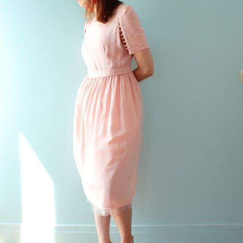 patron de couture robe Ankaa version rose