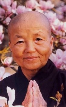 Sister Chan Khong - Magnolia portrait