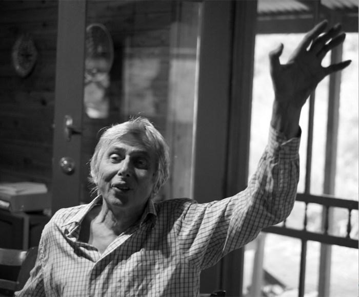 Martin in the kitchen @ Shanti Pur 2014 Juno Gemes ©