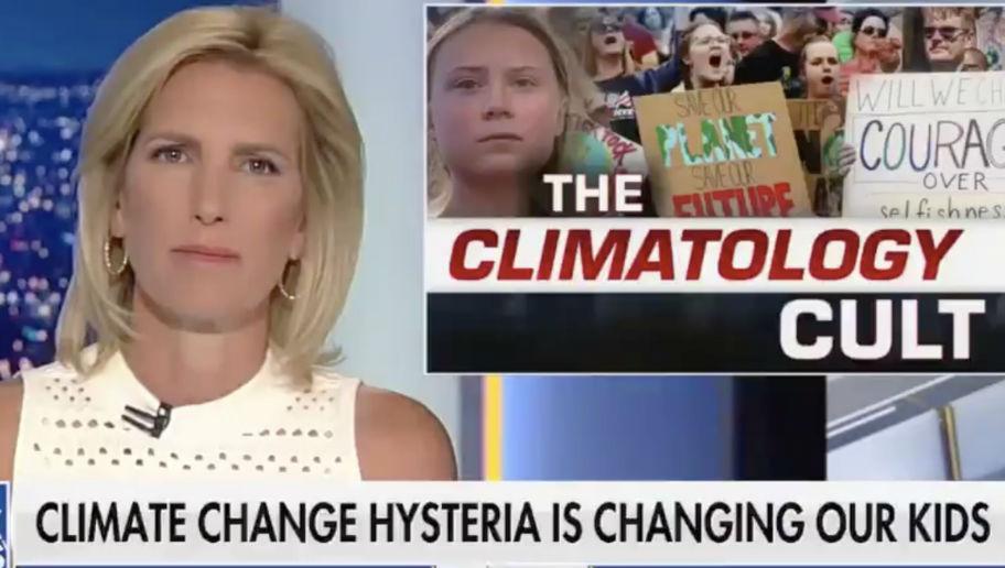 Laura Ingraham Mocks Greta Thunberg Children Of The Climate