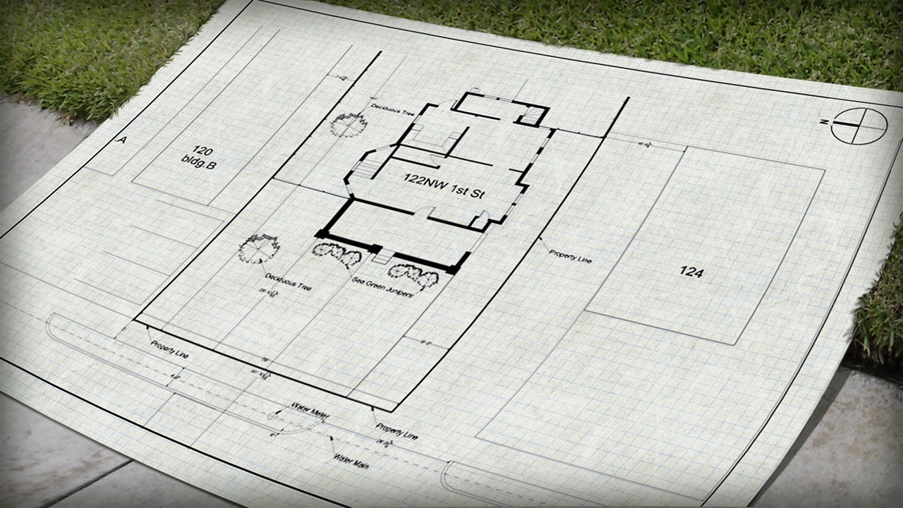 Drawing A Site Plan In AutoCAD