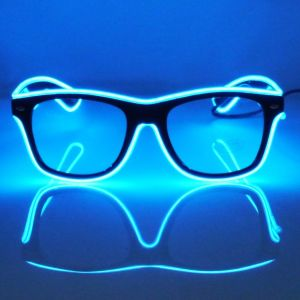 Best Rave Sunglasses JEBSENS - Light Up EL Wire Sunglasses