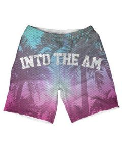 Perfect Rave Outfit Ideas Summer Vibes Jersey Premium All Over Print Weekend Rave Shorts