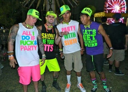 what to wear to an edm concert guys