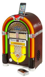 Gifts for Music Lovers: Crosley CR1702-CH iJuke Premier Jukebox