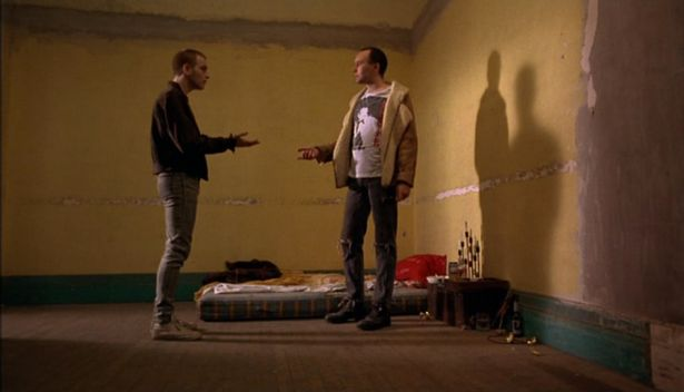 Irvine Welsh Trainspotting Cameo
