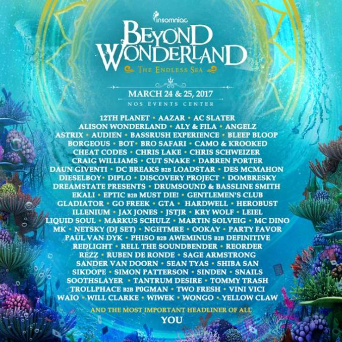 Beyond Wonderland, The Endless Sea
