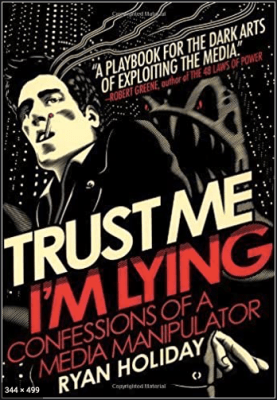 Trust me I am lying book cover