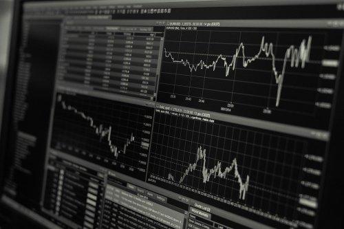 trading stock photo