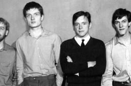 Mandatory Credit: Photo by Harry Goodwin / Rex Features ( 512337l ) Joy Division - Peter Hook, Ian Curtis, Bernard Sumner, Stephen Morris Various