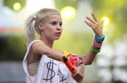 "Die Antwoord. ""Bannana Brain"". Video Nuevo. 'Mount Ninji and Da Nice Time Kid'. Yolandi. Cúsica Plus"