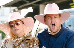 No solo el Carpool Karaoke, Lady Gaga se adueñó de todo The Late Late Show. Cúsica Plus