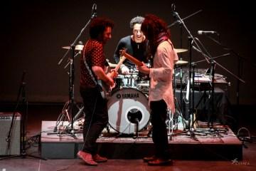 La psicodelia del funky joropo de Los Crema Paraíso hizo vibrar al Centro Cultural Chacao. Cusica Plus.