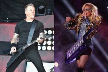 Lady Gaga cantará junto a Metallica en los Grammy . Cusica plus