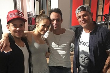 Oscarcito se encuentra grabando disco de Jennifer López. Cusica plus
