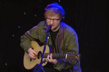 """Mira a Ed Sheeran versionar a 50Cent, Coldplay y el tema """"No Diggity"""". Cusica plus"""