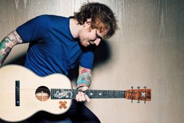 Ed Sheeran graba nueva música en África. Cusica plus