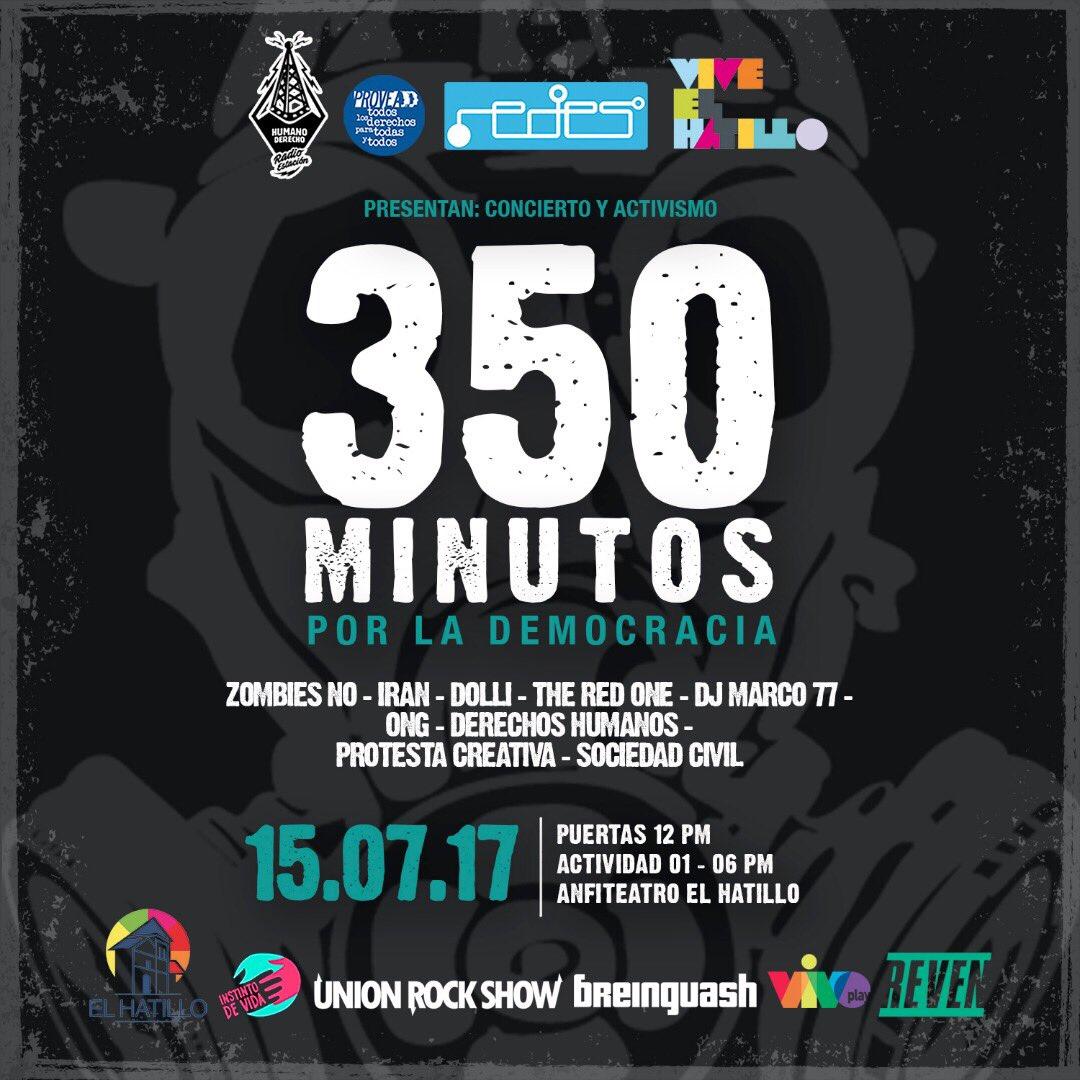 350 Minutos por la Democracia