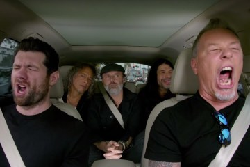 Descubre el yogurt favorito de Metallica en el adelanto de Carpool Karaoke. Cusica Plus.