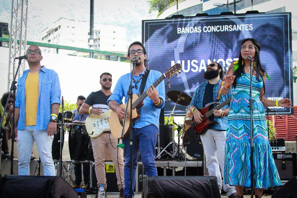La Resistencia del Festival Nuevas Bandas. Cusica plus.