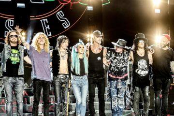 """Guns N' Roses invitó a Pink a compartir con ellos el tema """"Patience"""". Cusica Plus."""
