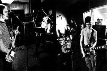 Tres de los miembros originales de The Smashing Pumpkins se reúnen en el estudio. Cusica Plus.