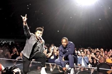 Kendrick Lamar y The Weeknd rezan en el nuevo sencillo de 'Black Panther'. Cusica Plus.