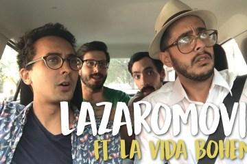 La Vida Boheme fue entrevistado en el LazaroMovil de Isra de Corcho. Cusica Plus.