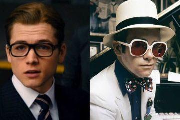 Se muestran las primeras imágenes de Taron Egerton como Elton John para su película biográfica. Cusica Plus.