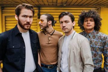 Los Mesoneros abrirá concierto a Foster The People en México. Cusica Plus.