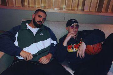 """Drake y Bad Bunny cantaron por primera vez en vivo su tema """"Mía"""". Cusica Plus."""