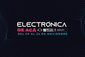 Fundación Nuevas Bandas y British Council celebrarán la primera edición de 'Electrónica de Acá' durante una semana. Cusica Plus.