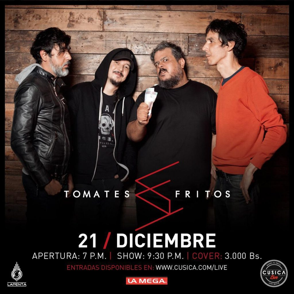 Tomates Fritos Flyer