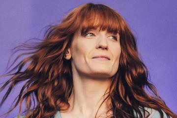 Florence And The Machine presenta su nuevo tema en vivo. Cusica Plus.