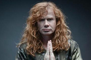 Dave Mustaine de Megadeth, afirmó que le gustaría realizar un concierto en una Venezuela libre. Cusica Plus.