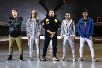 """Wisin y Yandel se unen con Reik en el tema """"Duele"""" con videoclip grabado en Caracas. Cusica Plus."""