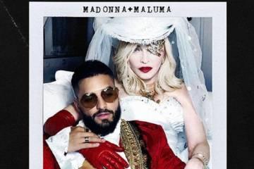 """Maluma y Madonna se unen en el nuevo tema """"Medellín"""". Cusica Plus."""