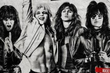 "Mötley Crüe se posiciona de nuevo en el top 10 de Billboard por ""The Dirt"". Cusica Plus."