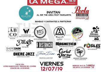 Primera edición de The Area Fest llega a la Isla de Margarita. Cusica Plus.