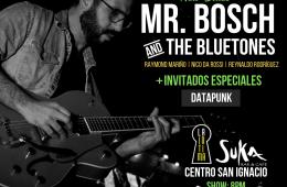 Mr. Bosch & The Bluetones, llegará a la Íntima junto a DJ DataPunk. Cusica Plus.