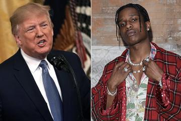 Donald Trump declaró que ayudará en la liberación del rapero A$AP Rocky