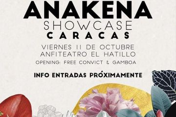Anakena anuncia showcase de su disco debut en Caracas. Cusica Plus.