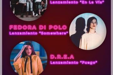 WAMM Records presenta a Cuásar, Fedora Di Polo y D.R.E.A en el 'New Music Friday'. Cusica Plus.