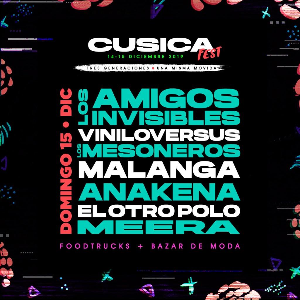 'Cusica Fest' el encuentro musical de las generaciones alternativas - Cúsica Plus
