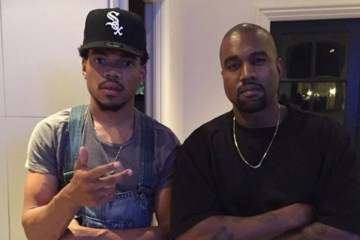 Kanye West y Chance the Rapper rindieron homenaje a Kobe Bryant en el servicio dominical. Cusica Plus.